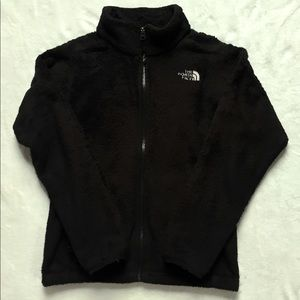 Girl's Black NorthFace Osito Jacket